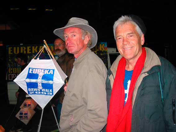 Graeme Dunstan and Bill Clyde, Sunday 7 December 2003