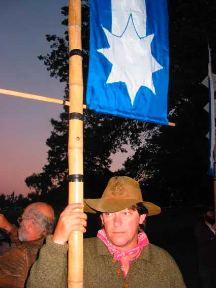 Lantern Standars bearer, Sunday 7 December 2003