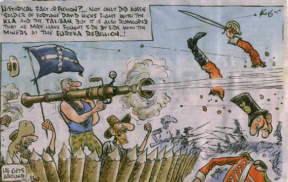 eureka stockade rebellion